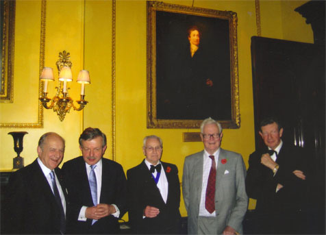Lord Lexden at the Carlton Club and Peel Society joint dinner