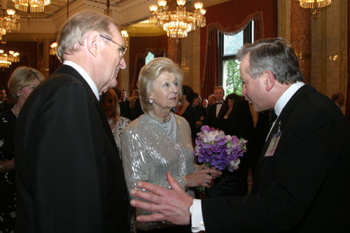 Lord Lexden with HRH Princess Alexandra