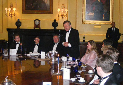 Lord Lexden speaking at the Carlton Club