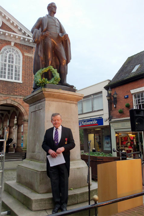 Lord Lexden in Tamworth