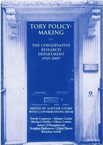 Tory Policy-Making Book